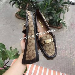 Giày loafer Coach